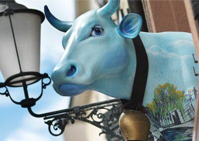 Cow Heidi at Hotel Adler Outdoor
