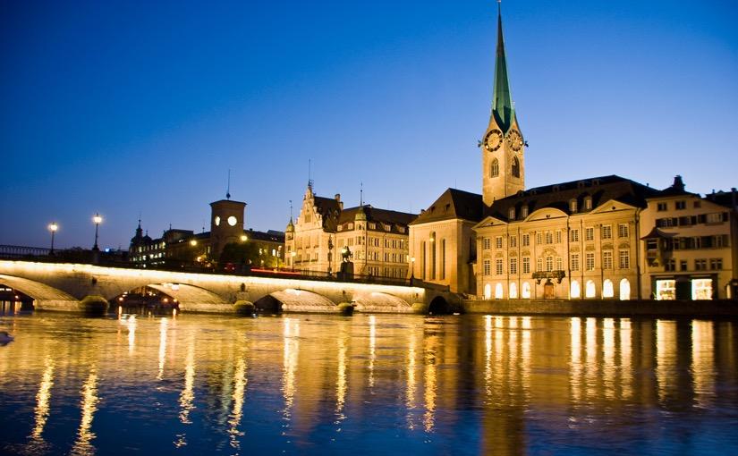 Foto von dem Fraumünster in Zürich