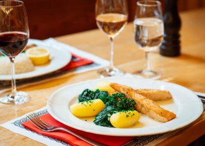 Fisch/Lachs Swiss Chuchi Restaurant
